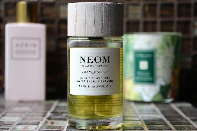 organic luxury bath oil