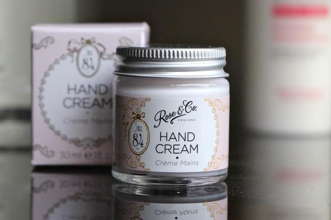 Rose & Co No. 84 Hand Cream Jar