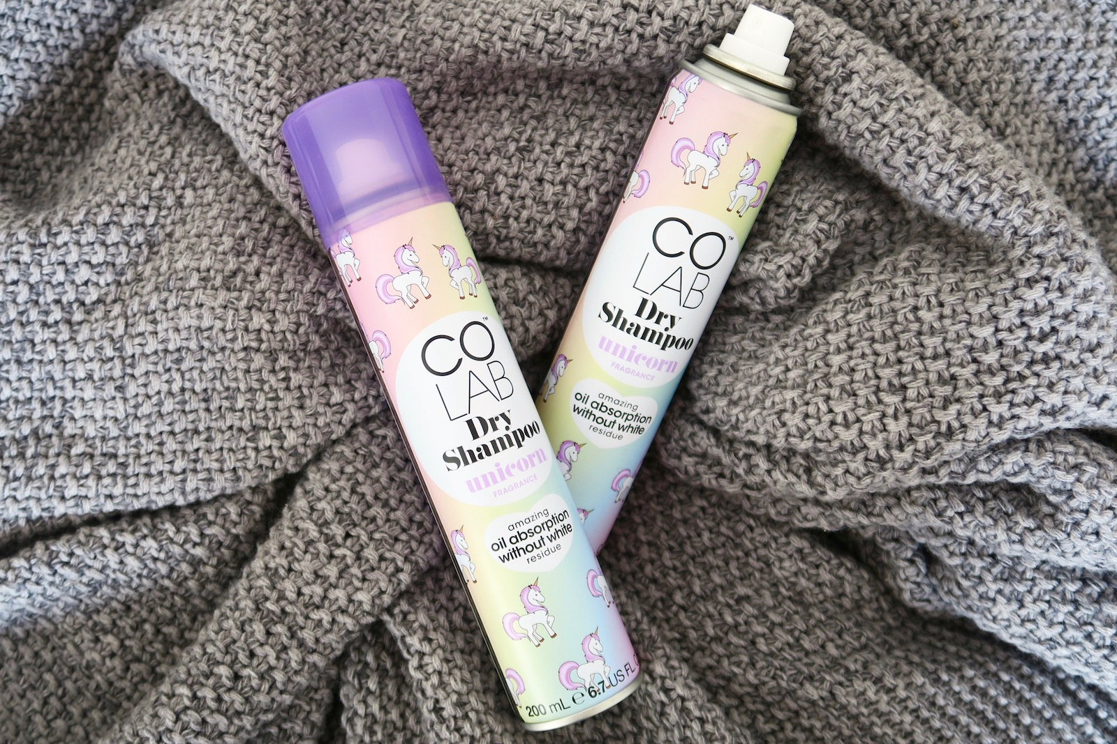 unicorn dry shampoo