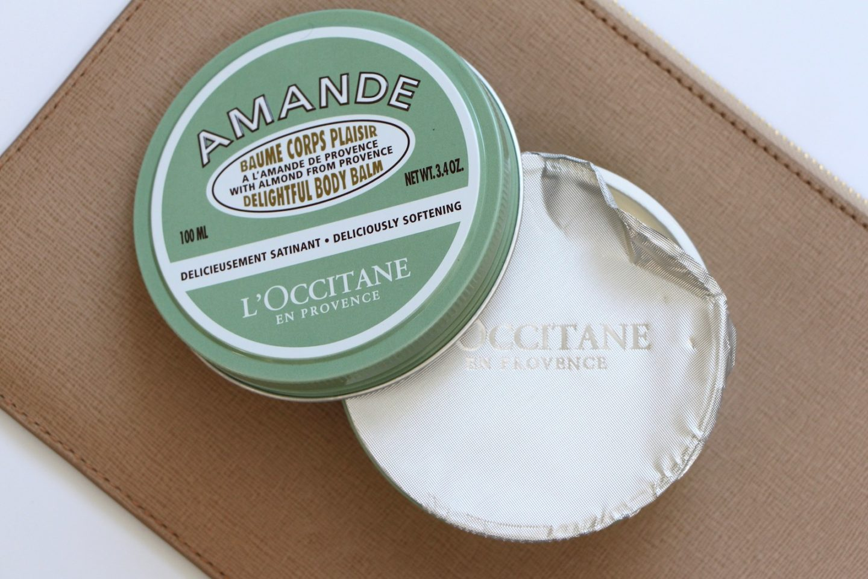 l'occitane amande body balm body cream review