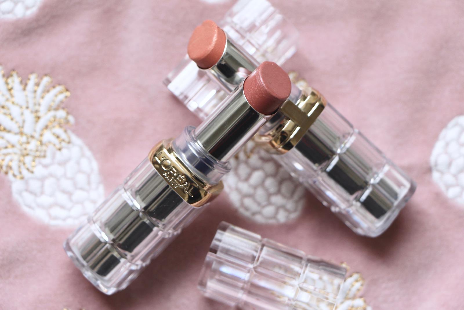 L'Oreal Paris Colour Riche Shine Lipstick Review