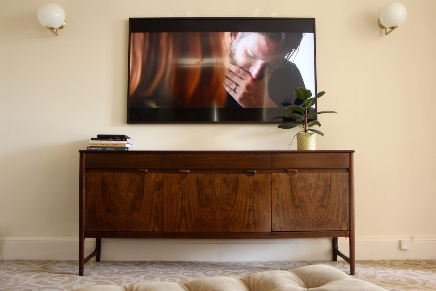 how to hide your television