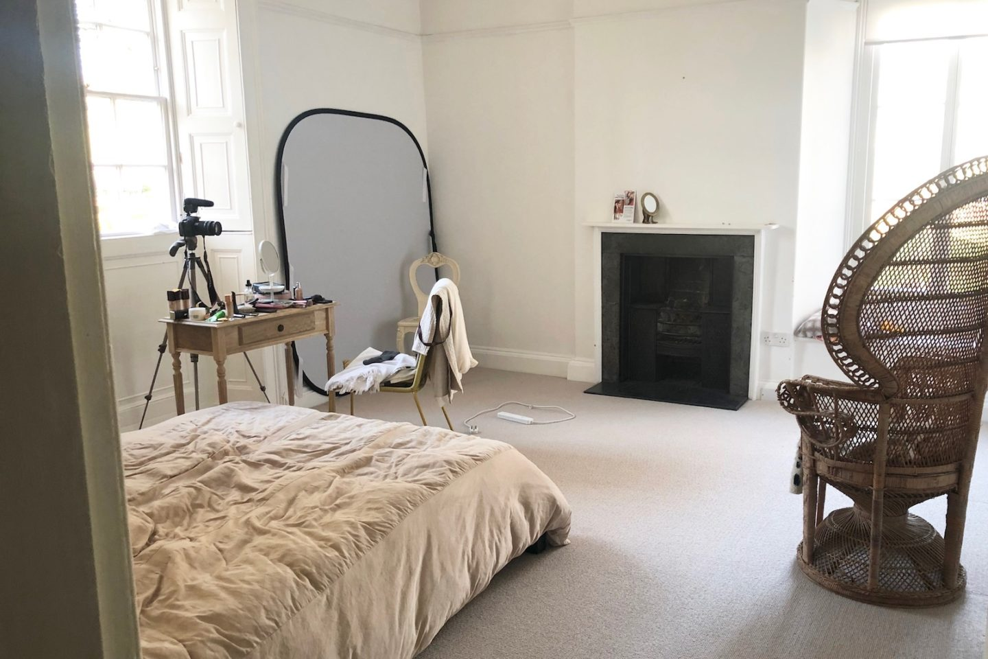 ruth crilly studio before makeover