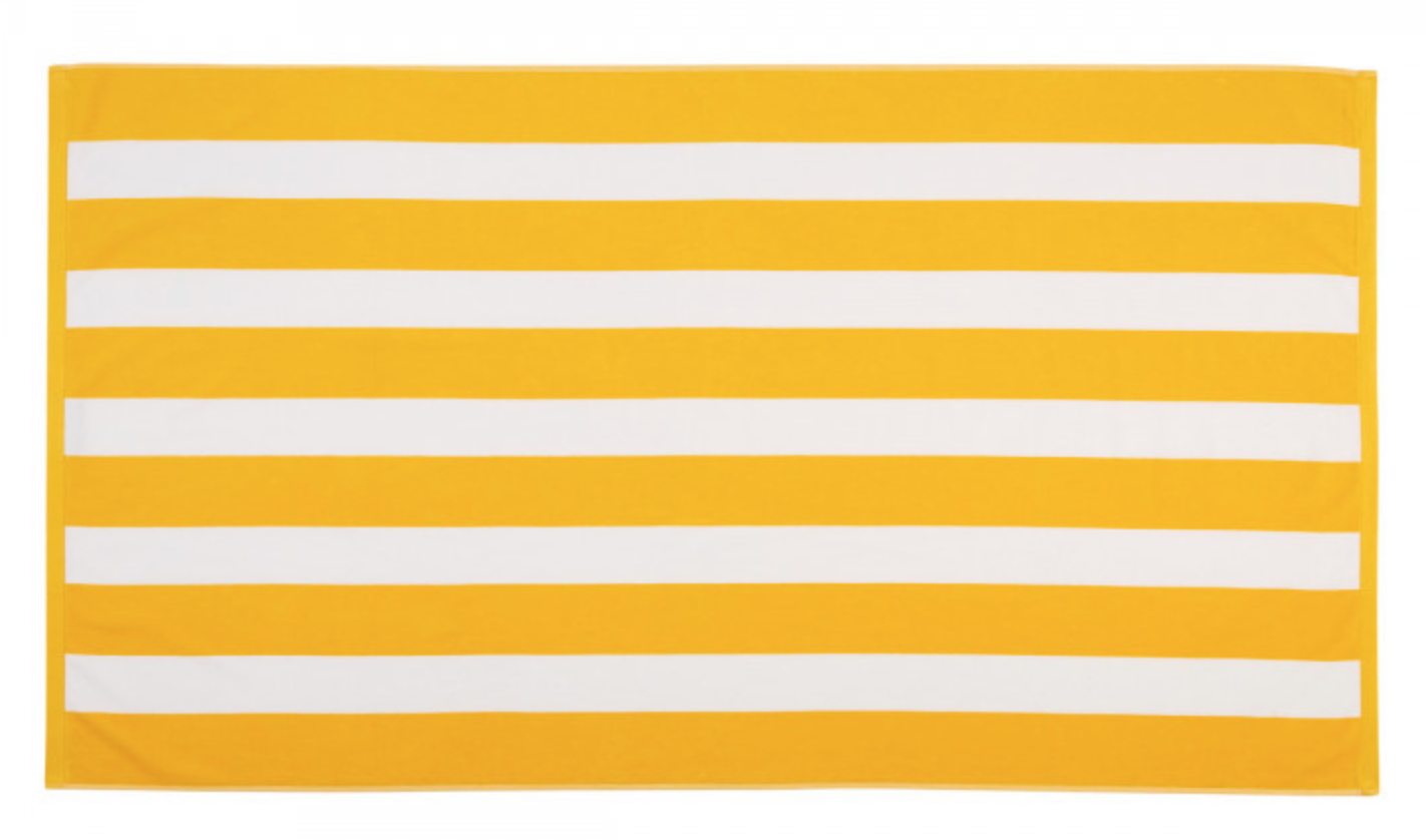christy cabana stripe beach towel
