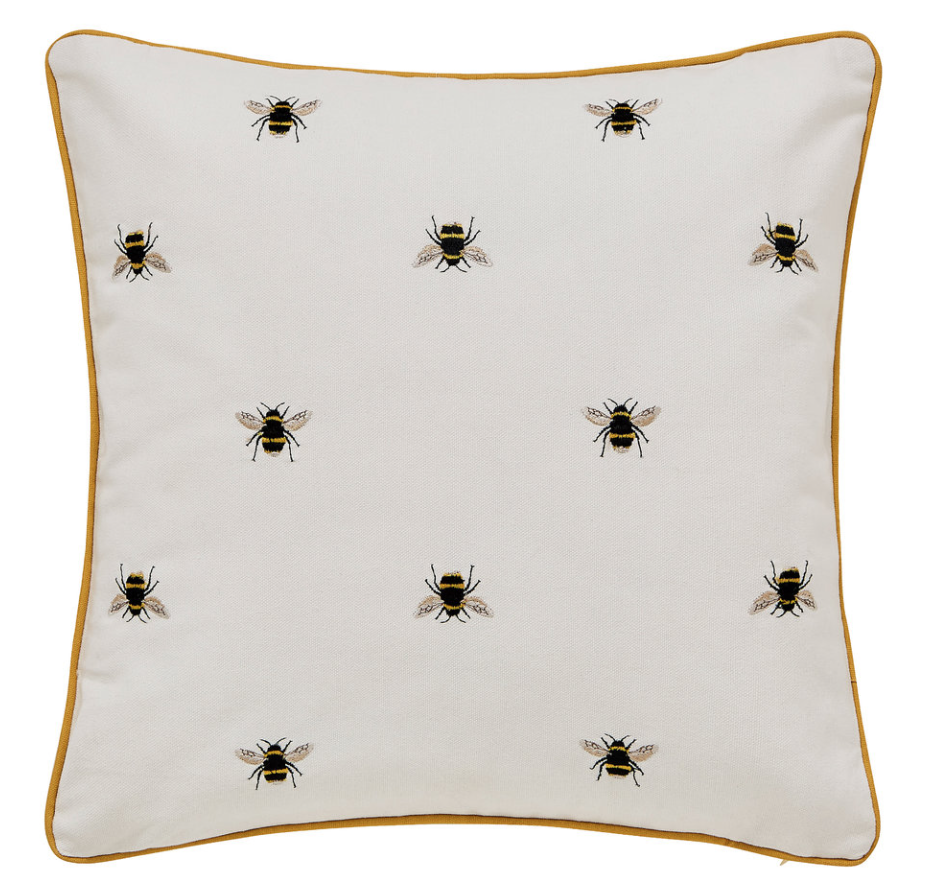 joules bee cushion