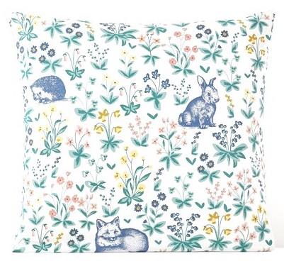 adelaide pretty print bed linen la redoute